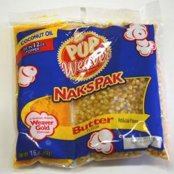 Naks Pak For 12 Ounce Popper 24Pkg Carton