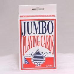 Playing Cards- Jumbo 5 X 3.5 Inch