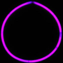 Glo Necklace- Hot Pink 50 Pc Tube