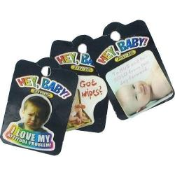 Hey Baby Pin- 2 Dozen Display- 8 Assorted