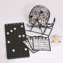 Complete Bingo Cage Set For Home Use