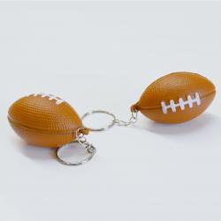 Soft Football Keychain- 1 Dozen Header