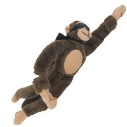 Brown Flying Monkey w/Cape and Mask- Flingshot Monkey with Sound