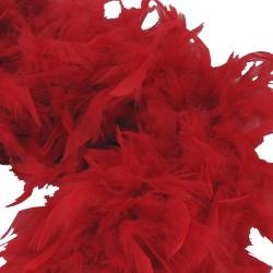 Feather Boa- Red- 6 Foot
