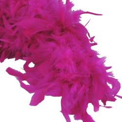 Feather Boa- Fuchsia- 6 Foot