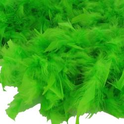Feather Boa- Lime Green- 6 Foot