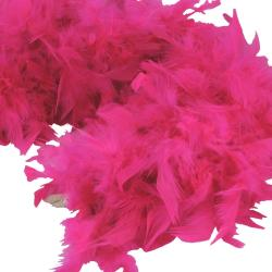 Feather Boa- Hot Pink- 6 Foot
