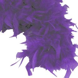 Feather Boa- Purple- 6 Foot