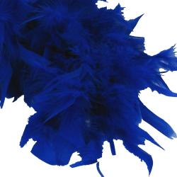 Feather Boa- Blue- 6 Foot