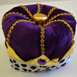 Purple Kings Crown Hat