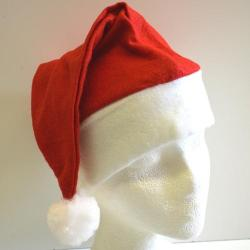Economy Santa Hat- Red Felt- Large Adult Size