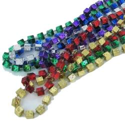 33 Inch 6.5Mm Dice Asst Color Bead