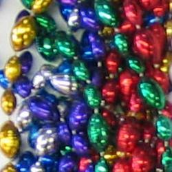 Football Bead- Assorted Colors 33 Inch