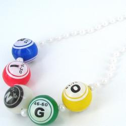 Bingo Ball Bead 40 Inch