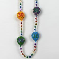 30th Birthday Bead 42 Inch