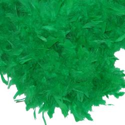 Feather Boa- Kelly Green- 6 Foot