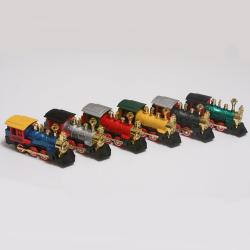 Die Cast Locomotive Train  1 Dozen Display