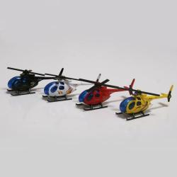 Die Cast Helicopter- 3 Inch