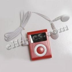 Scan Radio- Red- Each In A Box- Earbuds Included