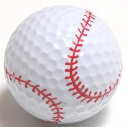 Baseball Golf Ball