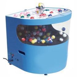 Electric Bingo Blower - Round Front