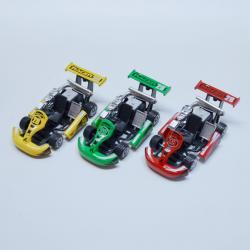 Die Cast Go Kart- Pull Back- 5.5 Inches Long- Asst Colors