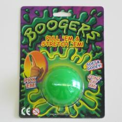 Boogers Slime- Blister Carded