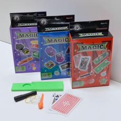 Magic Set- 3 Tricks- Each in a Color Box