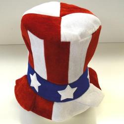 Patriotic Top Hat- High Quality