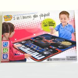 Jam Play Mat- Piano And Drum Set