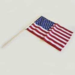 12X18 Inch Flag On Stick- USA