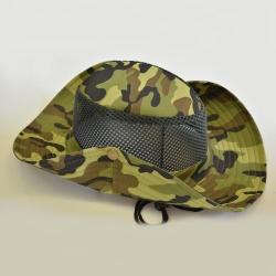 Camouflage Side Button Hat