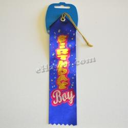 Award Ribbon- Birthday Boy- 8 Inch