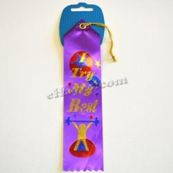Award Ribbon- I Try My Best- 8 Inch