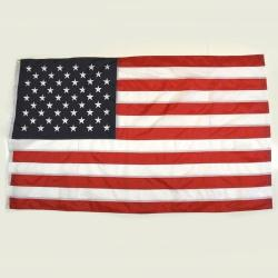 Deluxe 3X5 USA Flag- Embroidered