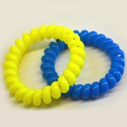 Neon Phone Cord Bracelet- Bulk Pack