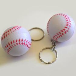 Soft Baseball Keychain- 1 Dozen Header