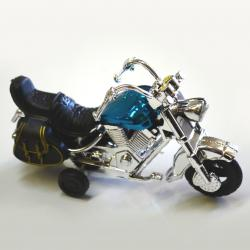 Pull Back Motorcycle- Each in Box- 1 Dozen Display