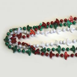Fiesta Bead- 33 Inch- Red-White-Green- 3 Per Card