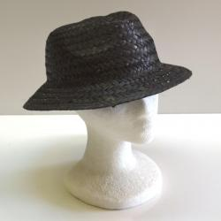 Straw Color Fedora Hat