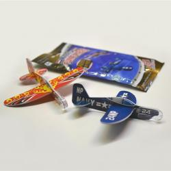 Micro Fun Flyer- Mini Glider Pack of 2- 3.5 Inch- 4 Dozen Display Box