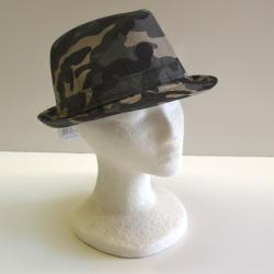 Camouflage Fedora