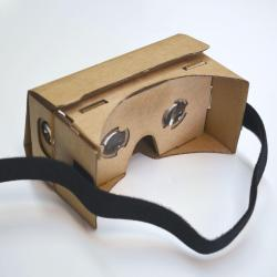 Cardboard VR Virtual Reality Viewer- Compatible with Most Regular-Size Smartphones