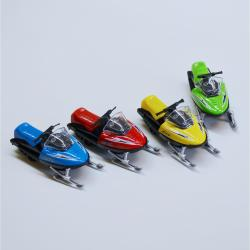 Die Cast Snowmobile- 5 Inches Long- Assorted Colors- 1 Dozen Display Box