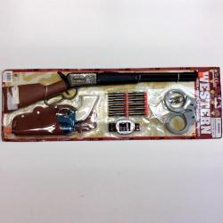 Wild West Deluxe Toy Gun Set