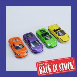 Die Cast Convertible- 4.5 Inch- Neon Colors- 1 Dozen Display Box