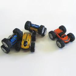Die Cast Friction Flip Car- Asst