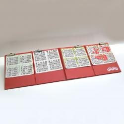 Foldable Bingo Card Mat