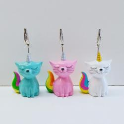 Bingo Ticket Holder- Unicorn Kitty - 3 Assorted Colors