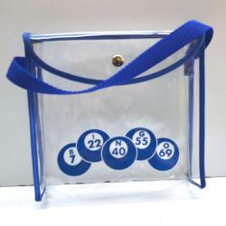 Clear Vinyl Bag for packaging 4oz Bingo Dabbers
